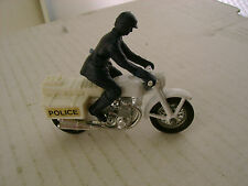 1977 MATCHBOX LESNEY SUPERFAST 33 POLICE WHITE BIKE MOTORCYCLE HONDA 750
