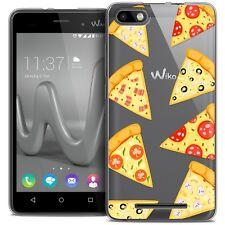 Carcasa Gel Para Wiko Lenny 3 Extra Fina Flexible Foodie Pizza