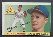 1955 Topps #183 Tony Jacobs St. Louis Cardinals NM to NM Plus (MC)