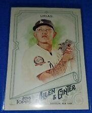 Julio Urias - 2018 Topps Allen & Ginter - Los Angeles Dodgers - #335 Short Print