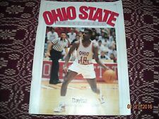OHIO STATE BUCKEYES BASKETBALL GAMEDAY PROGRAM(DEC. 19, 1987)VS. DAYTON FLYERS!