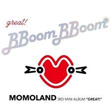 K-POP MOMOLAND 3rd Mini Album [GREAT!] CD + 80p Photobook + 2p Photocard Sealed