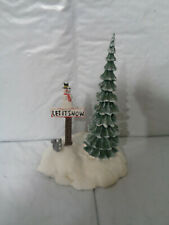 """Department 56 - """"Let it Snow"""" Snowman Holiday Village - Winter Accessory"""