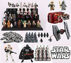 8/16 mini figures star wars Avengers solo darth vader yoda marvel fits with lego