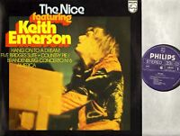 THE NICE FT KEITH EMERSON self titled (Netherlands) LP EX+/EX Art Rock Prog Rock