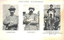 CESARE BATTISTI  REGIO ESERCITO ALPINI COMBATTENTE E PRIGIONIERO WW1