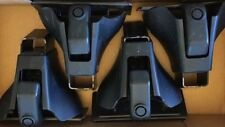 Thule Aero Foot Pack 400XT with covers  for Thule  load bars set of 4 no locks