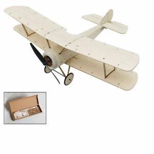 Micro PUP Balsa Wood KIT Biplane RC Building Model Plane Unassembled Airplane