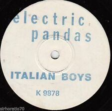 Pop Test Pressing 45 RPM Speed Vinyl Records