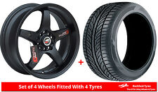 "Alloy Wheels & Tyres 15"" Lenso D1R For Mazda MX-5 [Mk1] 89-97"