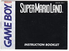 Super Mario Land (Nintendo Game Boy, 1989) GAME MANUAL ONLY! (2)