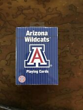 Arizona Wildcats Deck of Playing Cards PAC-12 NCAA licensed