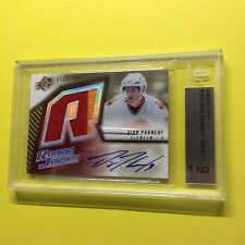 Dion Phaneuf 2005-06 SPx Jersey Rookie Auto 05-06 RC BGS 9 Mint