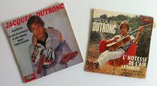 JACQUES DUTRONC lot 2 disques 45 T Records VOGUE  France 1969 1967