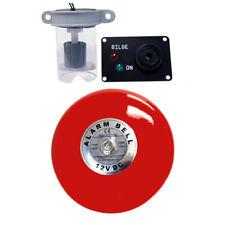 Bilge High Water Alarm with Loud Bell Bilge Warning, 12 volt