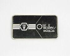 World's Leading WOLFERS, FLUORINE Franklin Mint FM Sterling Silver Gem-Ingot