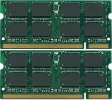 New 2GB 2x1GB DDR2 PC5300 SODIMM PC2-5300 Laptop MEMORY