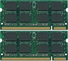 New 2GB 2x1GB DDR2 PC5300 SODIMM PC2-5300 Laptop MEMORY