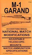 M1 GARAND NATIONAL MATCH MODIFICATION MANUAL  M-1 COMPETITION PRECISION BOOK NEW
