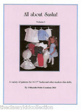 All About Sasha! Doll Patterns Booklet New!