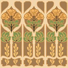 Deco Panels Art Tile Mural Decorative Back Splash Ceramic Custom Sizes Square