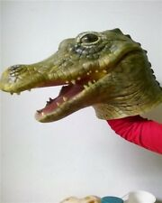 1X Magic Costume Crocodile Mask For Halloween Party For Fun Hot Sale