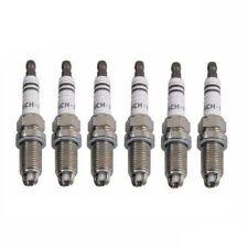 BMW E31 840Ci E32 740i E34 E38 E39 Set of 6 Bosch FR-7-LDC+ 7402 Spark Plugs