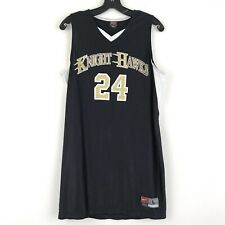 Nike Mens Black And White Knight Hawks Jersey 24 Tank Top Size Large