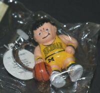 Vintage Michigan Wolverines Basketball Lil Sports Brat 1987 Keychain NCAA Hoops