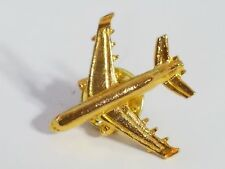 Boeing KC-777 Widebody Tanker & Transport Aircraft Tie Lapel Pin Gold Colored