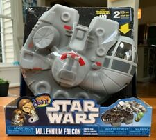 Star Wars Mighty Beanz Millennium Falcon Case + 2 Exclusive Beanz - NEW + SEALED