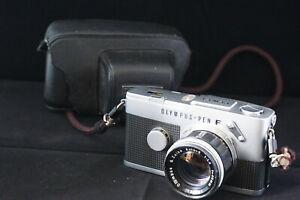 Olympus PEN F + G Zuiko 40 1:1,4. Vintage camera.