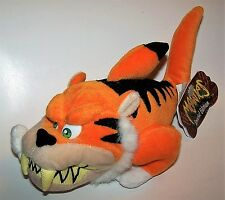 Vintage 1998 Special Edition Tiger Shark Meanie Babies Twisted Toys - Quaker Oat
