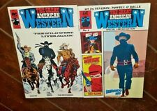 The Great American Western #1 & #2, (1987, AC Comics): Santee/The Dark Rider +