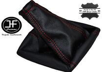 Manual de Cuero Rojo Stich Gear Polaina se ajusta Opel Opel Corsa B Tigra A 93-01