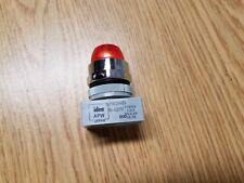 Led Panel Mount Ind. Light, - Red 22mm mount