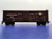 "HO Scale ""Pennsylvania Railroad"" 52496 Livestock Cattle Freight Train / Mantua"
