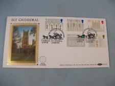 1989 ELY CATTEDRALE Benham F.D.C. TIMBRO copertura trasportate, mailcoach eseguire PMK blcs47b