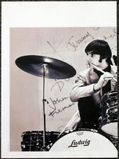 THE BEATLES POSTER PAGE . RINGO STARR & LUDWIG DRUM KIT . U28