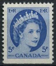 Canada 1954-62 SG#467, 5c QEII Definitive MNH Bottom Imperf #D6954