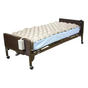 Medical Bed Med Aire Air Mattress Alternating Pressure Pump Pad Hospital System