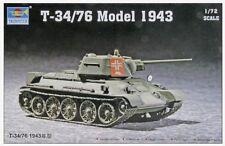 1/72 T-34/76 Model  trumpeter model kit 7208