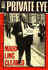 PRIVATE EYE 408 (numbered 409) - 5 Aug 1977 - Reginald Maudling - MAUDLING CLEAR