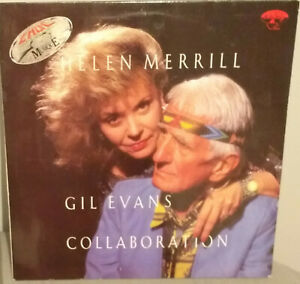 "HELEN MERRILL / GIL EVANS ""Collaboration"" LP JAZZ"