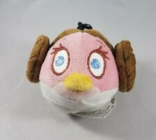 Star Wars Angry Birds Plush Princess Leia Pink Stella Bird