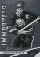 2012-13 Certified Buffalo Sabres Hockey Card #136 Gilbert Perreault IMM /999