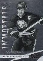 2012-13 Certified Buffalo Sabres Hockey Card #136 Gilbert Perreault IMM /999