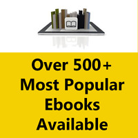 500+ Most Popular eBooks With Resell Rights