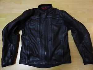 Sehr hochwertige Leder-Motorradjacke v. Büse Nogaro STX, Herren, NP 529