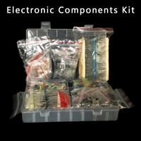 Electronic Components Kit LED Diodes Resistors Electrolytic Capacitors Practical